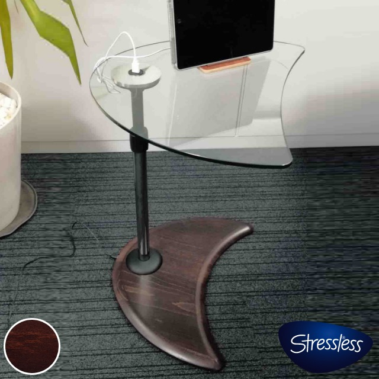 ストレスレス USBテーブルA ガラス エコーネス