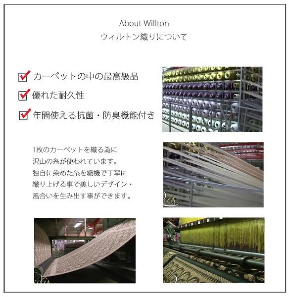 ウィルトン織について