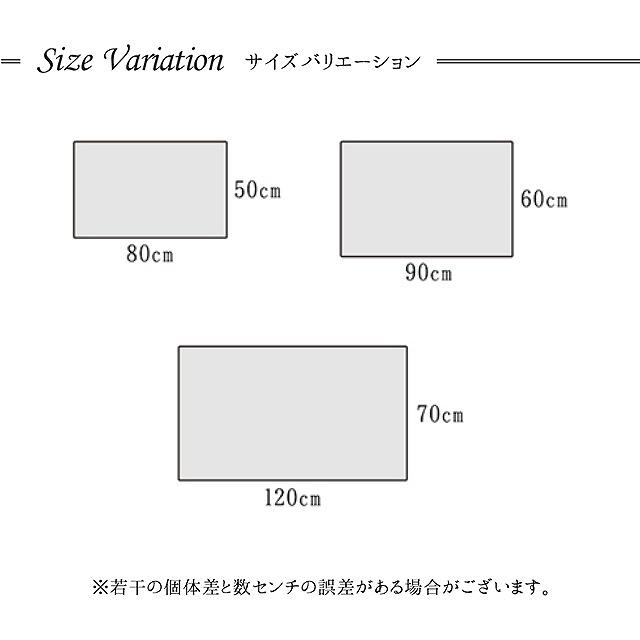 立体感がありボリュームのあるウィルトン織玄関マット 50×80cm