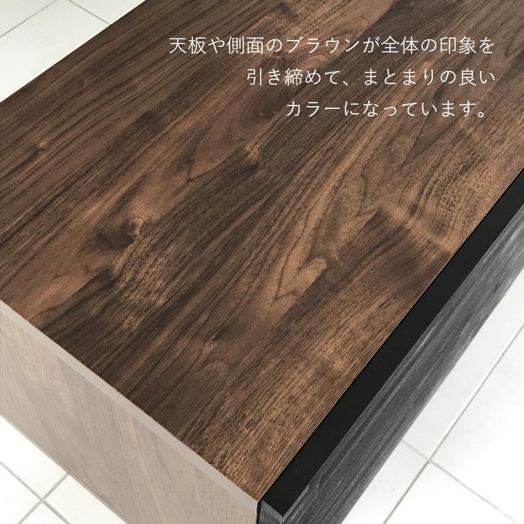 安心品質の日本製テレビボード。 クイナ 156 サイドボード ガルト