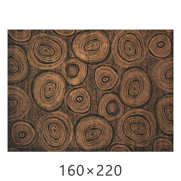ラグ アフィニティコレクション ティンバーロッジ ルームサイズ 160×220cm Timber Lodge